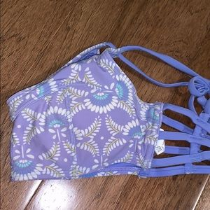 Lilac swimsuit top